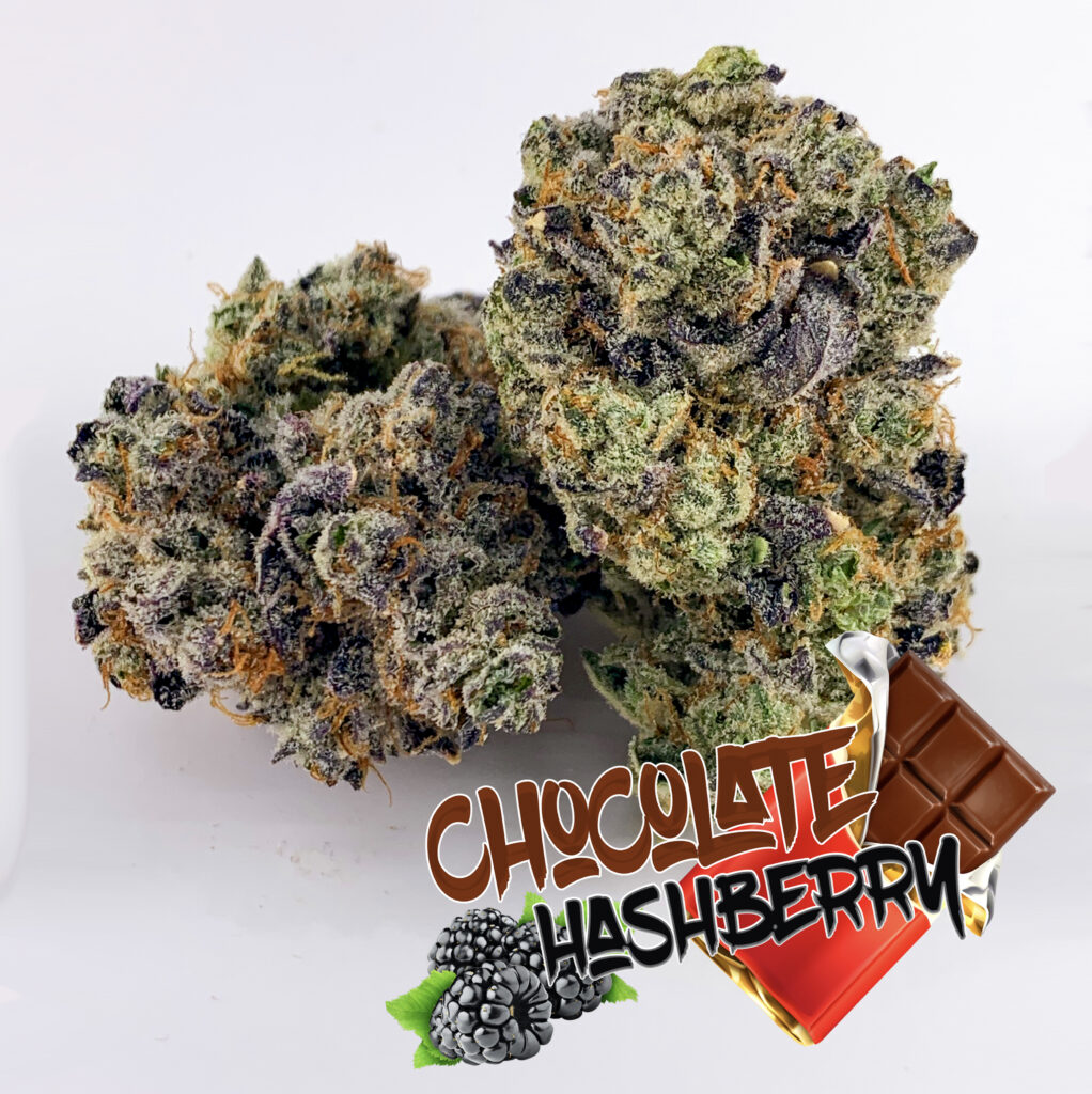 Chocolate Hashberry with name