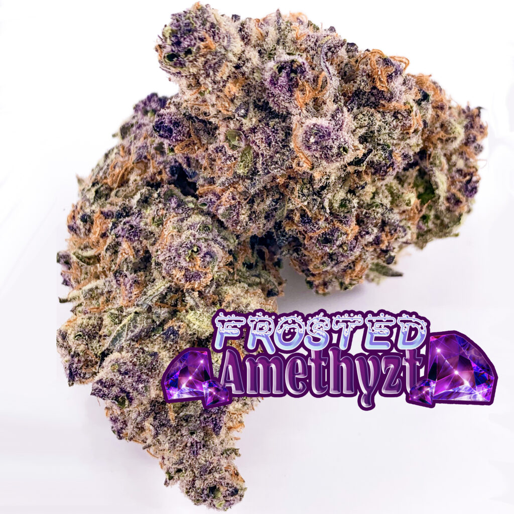 Frosted Amethyzt with name